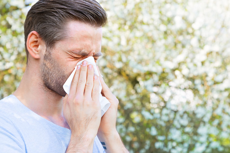 tung pust allergi