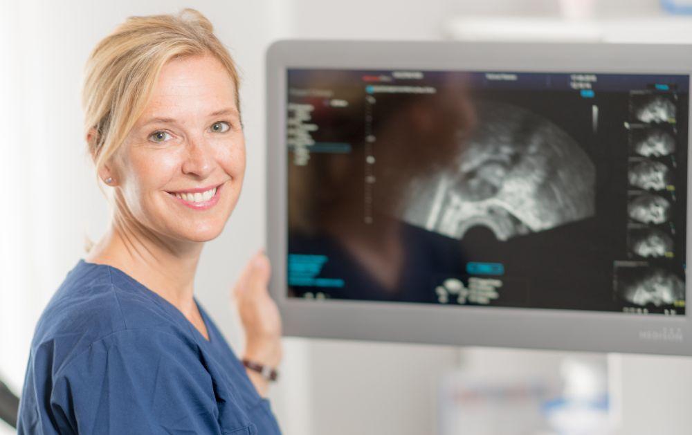 gynekologisk undersøkelse med ultralyd